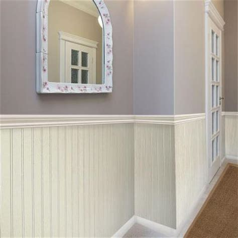 Wainscoting Sheets Home Depot Null 3 16 In X 32 In X 48 In Dpi Pinetex White Wainscot