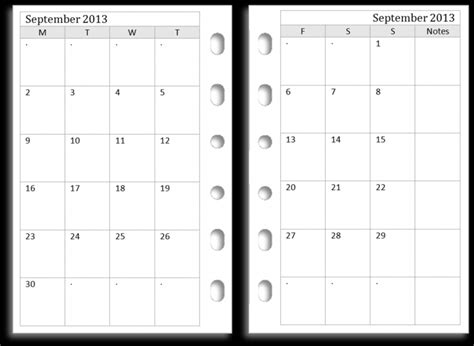 two page monthly calendar template monthly two page calendar template free calendar template