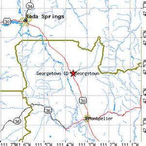 georgetown zip code map georgetown idaho id population data races housing