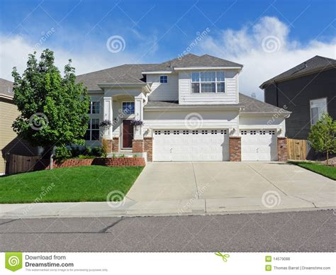 tract home typical affordable tract housing stock photo image 14579088