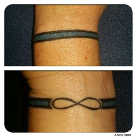 tattoo wrist line thin blue lines blue line and wrist tattoo on pinterest