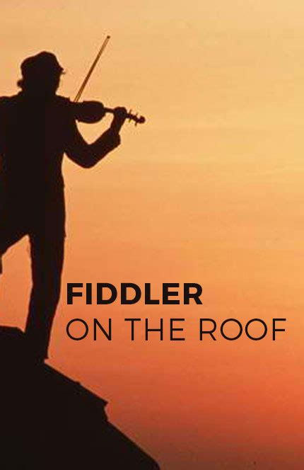 on the roof fiddler on the roof racine theatre