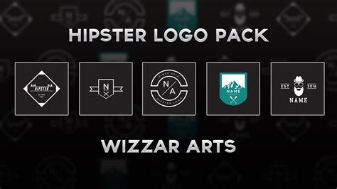 how to make a hipster logo in photoshop youtube free hipster logo pack psd youtube
