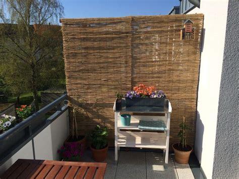 Balkone Sichtschutz by Balkon Sichtschutz Aus Bambus Selber Bauen Anleitung Mit