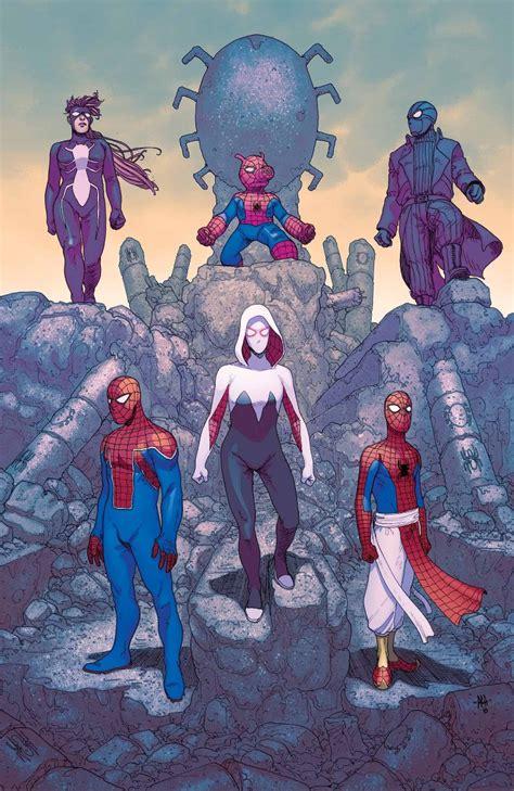 Gamis Gwen Salt spider verse 5 cover spider crawlspace