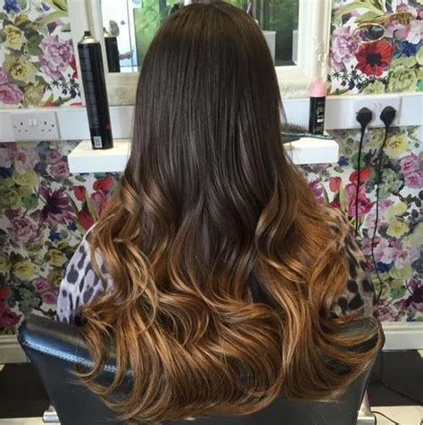 long dark brown ombre hair 20 weave hairstyles to make heads turn page 11 foliver