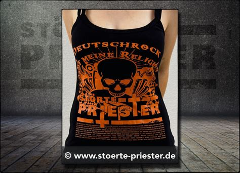 Metal Band Heckscheibenaufkleber by Girly Tops Girly Top Quot Deutschrock Ist Meine Religion Quot