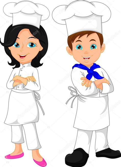 imagenes animadas de una niña dibujos de chef latest cocineros en dibujos para imprimir