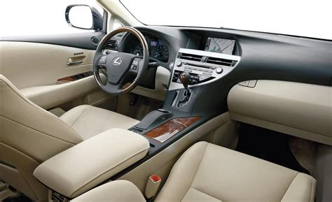 2010 lexus rx 350 interior car and driver