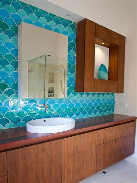 bold bathroom color ideas our favorite bright bold bathrooms hgtv