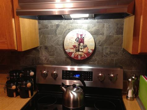 vinyl tile backsplash diy projects