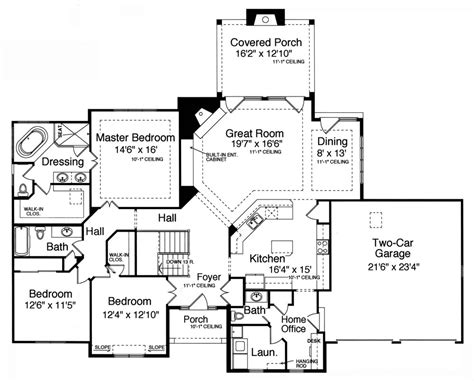 home design floor plans bonnie 9078 3 bedrooms and 2 baths the house designers