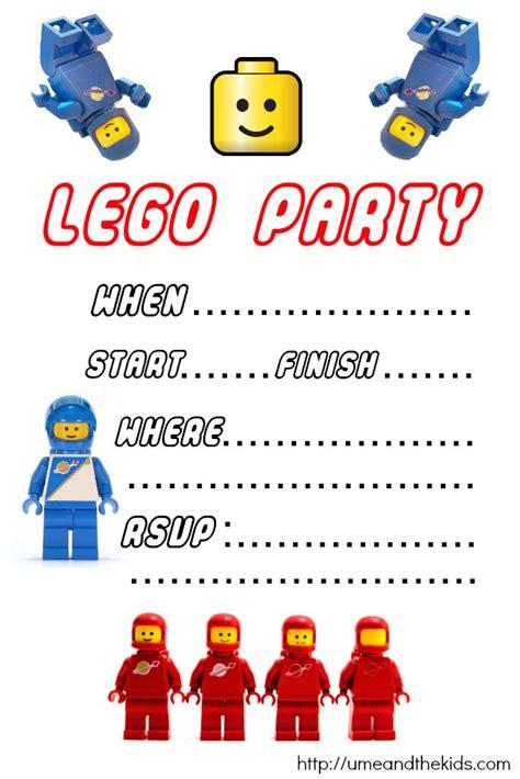 Lego Birthday Invitations Birthday Party Invitations Lego Birthday Invitation Template