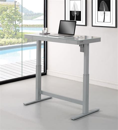 height for standing desk 47 quot adjustable height standing desk