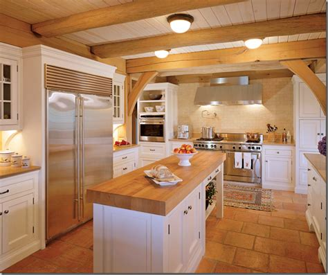 rustic butcher block countertops rustic butcher block island kitchen design photos 2015