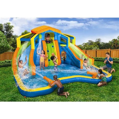 backyard inflatable water park water parks inflatable water parks inflatable pool