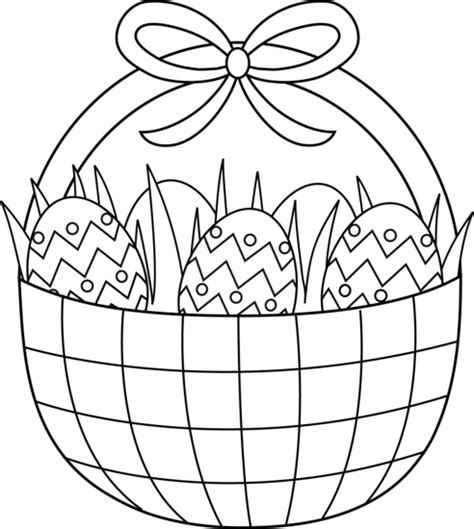 easter basket coloring pages best coloring pages for kids
