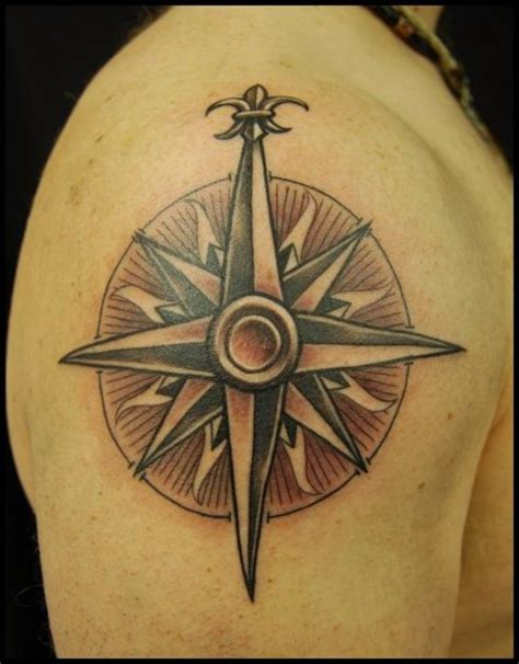 nautical compass rose tattoo compass tattoos designs ideas and meaning tattoos for you
