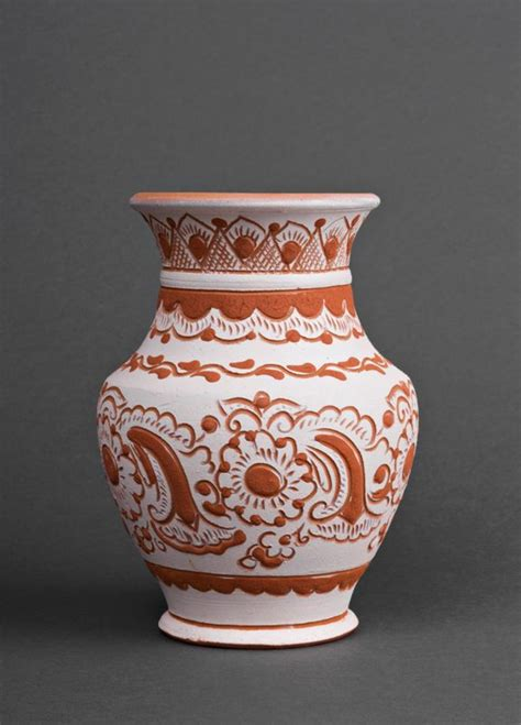 madeheart gt vaso decorativo fatto a mano vaso di argilla