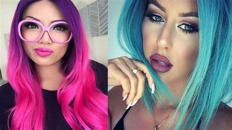color de cabellos de moda colores de cabello tipos de estilo mujer youtube