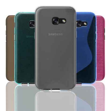 Tpu For Samsung Galaxy A5 2017 cover for samsung galaxy a5 2017 tpu bumper rubberized hardcase bookstyle ebay