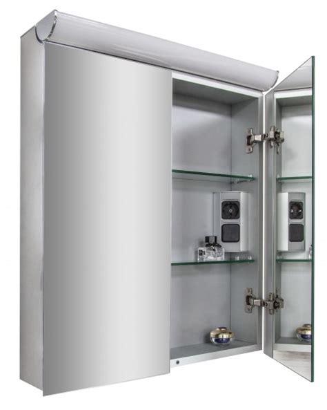 spiegelschrank 40 cm breit mit licht spiegelschrank multy bs60 mit innenverspiegelung