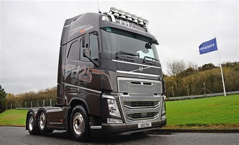 volvo fh  year special edition   perfect tribute truck  adams transport