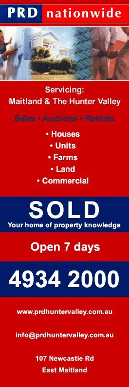 Janelle Brown Real Estate Broker Also Search For Prd Nationwide Real Estate Agents 107 Newcastle Rd East Maitland