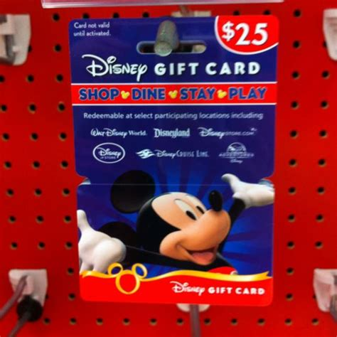Disney World Gift Cards Target - planning a disney trip ask family members to give the kids gift cards for birthdays
