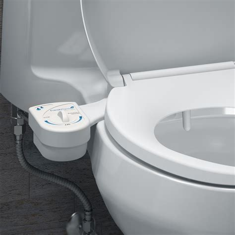 toilette mit bidet freshspa easy bidet toilet attachment brondell