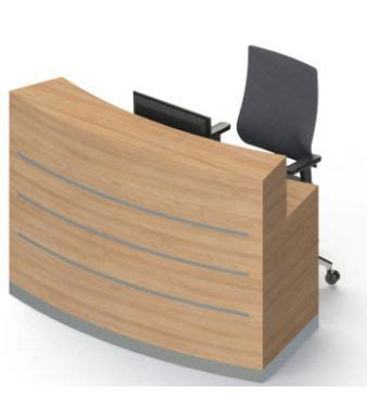 compact reception desk ybn compact reception desk eclypse no plinth