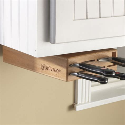 under cabinet knife block maximize your cabinet space with these 16 storage ideas