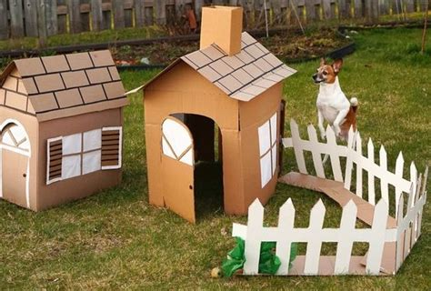 how to make dog house at home how to make a cardboard dog house for 0 cardboard crafting