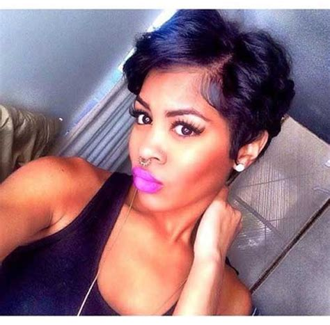 the best pixie cut for black hair 20 pixie cut for black women short hairstyles 2016
