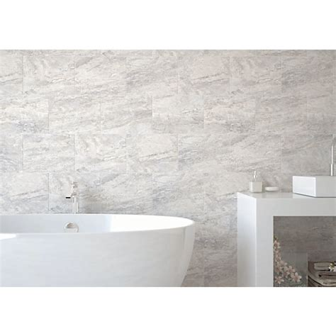 wickes wall tiles bathroom wickes amalfi slate grey ceramic tile 360 x 275mm wickes