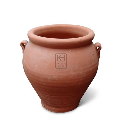 Clay Pot earthenware prop hire 187 small unglazed clay pot keeley hire