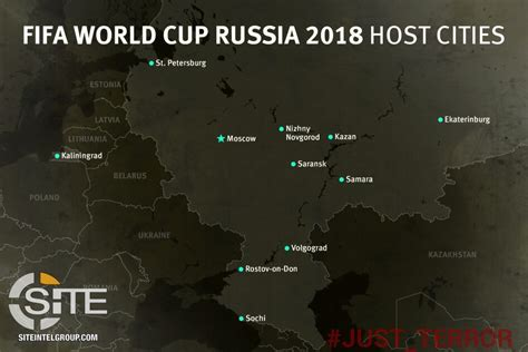 world cup 2018 host cities map pro is telegram channel distributes map of host cities for