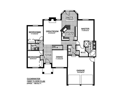 clearwater floor plan floorplan clearwater page 2 saratoga homes