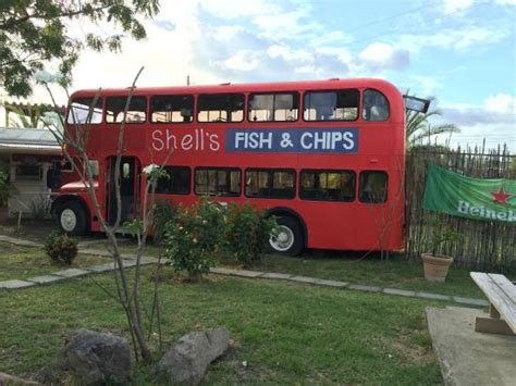 fish omnibus photo0 jpg picture of shells double decker fish chips jolly harbour tripadvisor