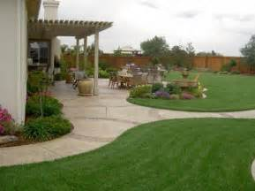 Large Backyard Landscaping Ideas Backyard Garden Ideas For Photograph View Large Galle