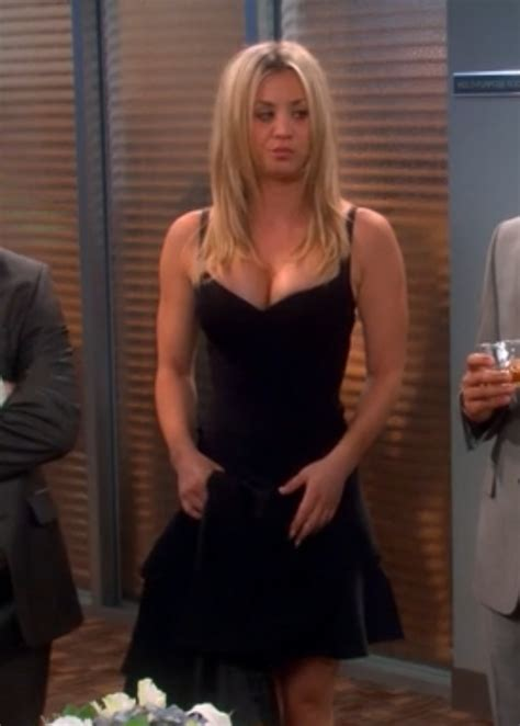 penny s penny s guess celeste bandage dress the big bang theory