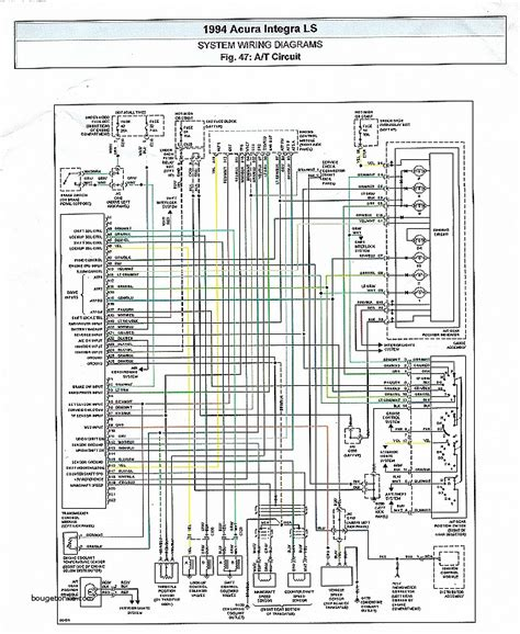 wiring diagram for 1994 acura integra wiring diagram and