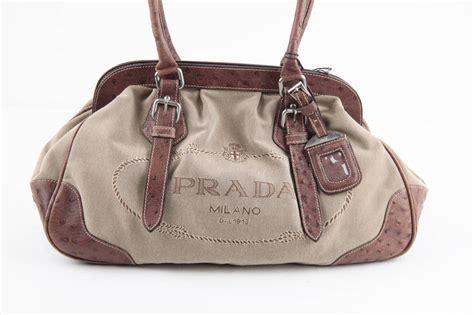 Handbag Wd 961 Beige prada ostrich leather handbag best quality hermes birkin replica