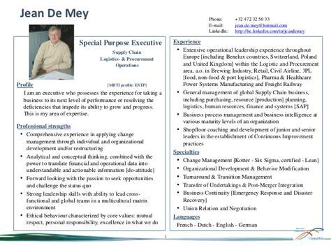 jean de mey profile summary v 2