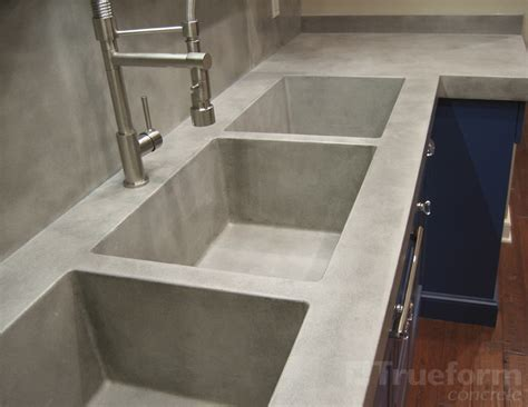 20 simple modern and cool concrete sinks furniture