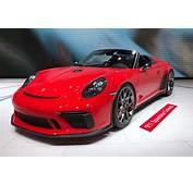 Porsche 911 Speedster Concept Revealed At Paris 2018  Evo