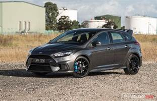 Ford Rs 2017 Ford Focus Rs Review Impressions
