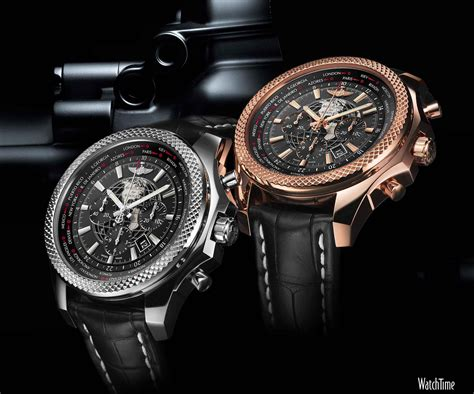 breitling for bentley breitling for bentley celebrates 10 years with 3 new in