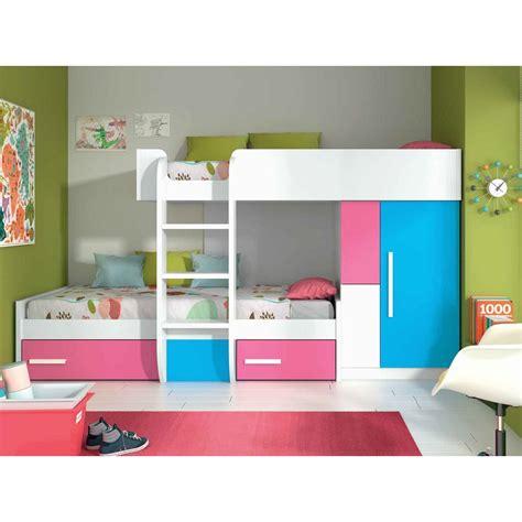 literas cama cama litera juvenil con cajones y armario en oferta