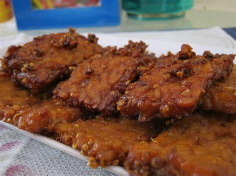 cara membuat tempe bacem gurih resep cara mudah membuat tempe bacem yang manis dan lezat